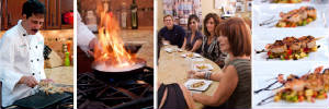 Cooking classes flambe