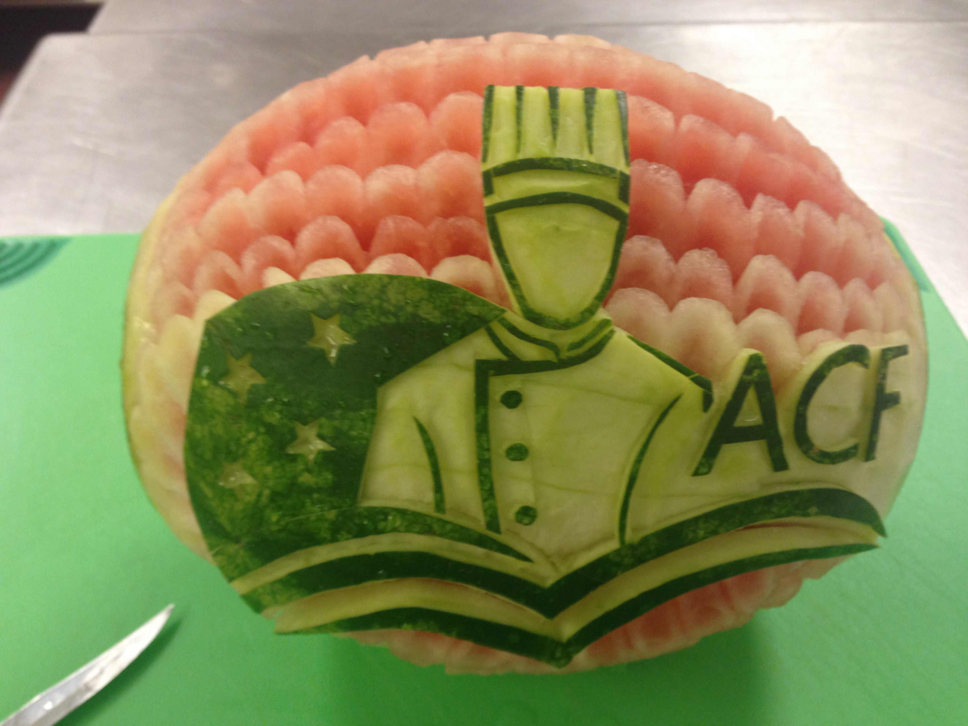 ACF Watermelon Carving